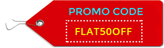 50 percent promo code